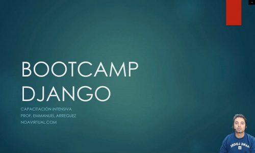 Bootcamp Django Curso Intensivo